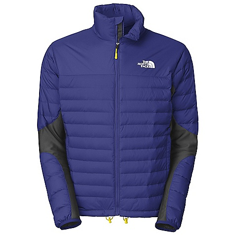 On Sale. Free Shipping. The North Face Men's A-Back Hybrid Down Jacket DECENT FEATURES of The North Face Men's A-Back Hybrid Down Jacket Wind resistant, breathable Hybrid construction with 800 fill down in the body/top of sleeves Polartec Power Stretch fleece in side panels and underarms Hand warmer zip pockets Internal security pocket Imported The SPECS Average Weight: 16.93 oz / 480 g Center Back Length: 27in. Body: 30D 70 g/m2-100% nylon 2L Gore Windstopper ripstop weave Side Panels: Polartec Power Stretch Lining: Embossed downproof taffeta Insulation: 800 fill down This product can only be shipped within the United States. Please don't hate us. - $163.99