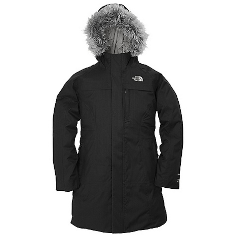 On Sale. Free Shipping. The North Face Girls' Arctic Parka DECENT FEATURES of The North Face Girls' Artic Parka Waterproof, breathable, fully seam sealed Removable faux fur trim on fixed hood Zip hand warmer pockets Internal media pocket Napoleon chest pocket Inner micro-fleece cuffs Center front zip with snap-down closure ID label Embroidered logo at left chest Imported The SPECS Average Weight: 31 oz / 840 g Center Back Length: 28.75in. Body: 70D 150 g/m2 Hyvent 2L-100% nylon mini herringbone (blue sign approved fabric) Lining: 50D 76 g/m2 100% recycled polyester taffeta Insulation: 550 fill down This product can only be shipped within the United States. Please don't hate us. - $160.99