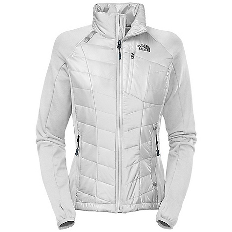 On Sale. Free Shipping. The North Face Women's Jakson Hybrid Jacket DECENT FEATURES of The North Face Women's Jakson Hybrid Jacket Wind resistant, breathable Reverse-coil CF zip Chest zip utility pocket hand warmer zip pockets The SPECS Average Weight: 13.58 oz / 385 g Center Back Length: 24in. Body: 20D 37 g/m2-100% nylon mini double ripstop Sleeves: Polartec Power Stretch Insulation: 100 g PrimaLoft Eco This product can only be shipped within the United States. Please don't hate us. - $158.99