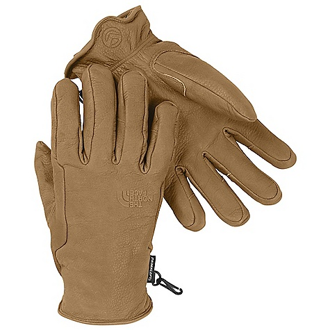 On Sale. Free Shipping. The North Face Work Glove DECENT FEATURES of The North Face Work Glove 5 Dimensional Fit uses five hand measurements to build gloves from the inside out to ensure a consistent size Fit Tough, all-leather construction that minimizes seams Articulated, molded fit Embossed cuff pull Imported The SPECS Shell: Water-resistant leather Lining: Flash Dry (180 g) Palm: Water-resistant leather Back of Hand Insulation: 60 g PrimaLoft This product can only be shipped within the United States. Please don't hate us. - $55.99