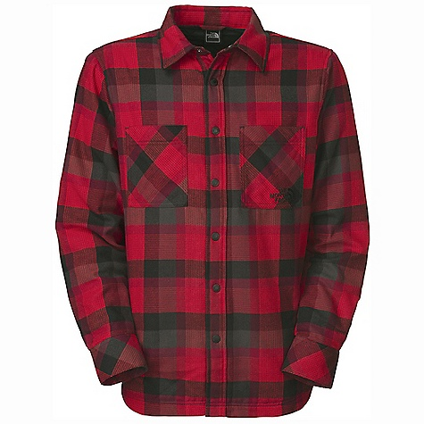 On Sale. Free Shipping. The North Face Men's Fort Point Flannel DECENT FEATURES of The North Face Men's Fort Point Flannel Chest pockets Button cuffs Imported The SPECS Average Weight: 24.87 oz / 705 g Center Back Length: 30.25in. Shell: 58% cotton, 42% polyester yarn-dyed twill flannel Lining: Quilted taffeta Insulation: 40 g Heatseeker This product can only be shipped within the United States. Please don't hate us. - $76.99