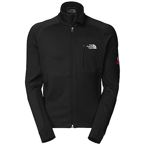 On Sale. Free Shipping. The North Face Men's Skiron Jacket DECENT FEATURES of The North Face Men's Skiron Jacket Smooth-face stretch fleece has a micro check brushed interior Flash Dry technology dramatically decreases drying time Welded chest pocket is generous and low profile Flat-locked seam construction eliminates hot spots when layering Imported The SPECS Average Weight: 13 oz / 375 g Center Back Length: 28in. 60% polyester 35% polyester 5% elastane 268 g/m2 (7.77 oz/yd2) with 59% nylon 25% polyester 16% elastane 225 g/m2 (6.53 oz/yd2) with Flash Dry fiber This product can only be shipped within the United States. Please don't hate us. - $135.99