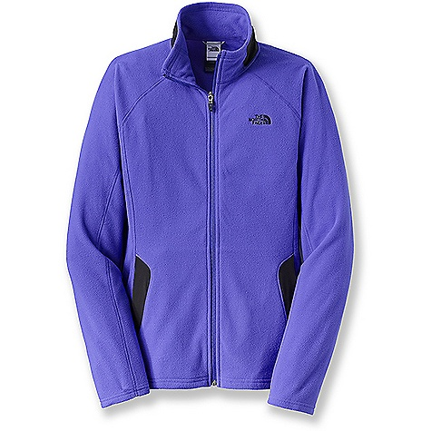 Free Shipping. The North Face Women's RDT 100 Full Zip Jacket DECENT FEATURES of The North Face Women's RDT 100 Full Zip Jacket Fleece with FlashDry for improved dry time and woven panels for increased abrasion resistance Two hand pockets Reverse-coil full zip TNF Apex stretch woven at collar and pocket flaps The SPECS Average Weight: 9.24 oz / 262 g Center Back Length: 25.75in. Body: 70D 155 g/m2 (5.46 oz/yd2) 100% polyester with FlashDry Panels: 90D 142 g/m2 (5 oz/yd2) 87% polyester, 13% elastane four-way-stretch woven This product can only be shipped within the United States. Please don't hate us. - $74.95