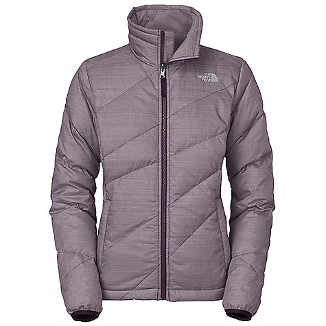 On Sale. Free Shipping. The North Face Women's Bella Luna Down Jacket DECENT FEATURES of The North Face Women's Bella Luna Down Jacket Collar with brushed chin guard to cover lower face Two secure-zip hand pockets Hem cinch-cord Elastic bound cuffs The SPECS Average Weight: 21.34 oz / 605 g Center Back Length: 26in. Body: 50D 82 g/m2 (2.89 oz/yd2) 100% polyester Insulation: 600 fill goose down This product can only be shipped within the United States. Please don't hate us. - $143.99