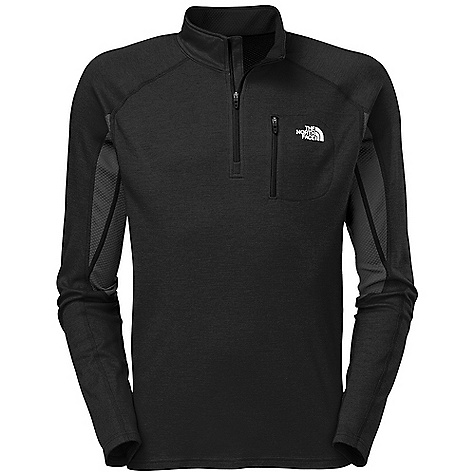 On Sale. Free Shipping. The North Face Men's Kannon Midlayer DECENT FEATURES of The North Face Men's Kannon Midlayer Layered venting system Chest zip utility pocket Elbow articulation The SPECS Average Weight: 12.7 oz / 360 g Center Back Length: 27.5in. Body: 235 g/m2 19.5 micron-65% interlock wool, 35% polyester with Flash Dry fiber Side Panels: 196 g/m2-53% polyester with Flash Dry fiber, 47% polyester mesh This product can only be shipped within the United States. Please don't hate us. - $83.99