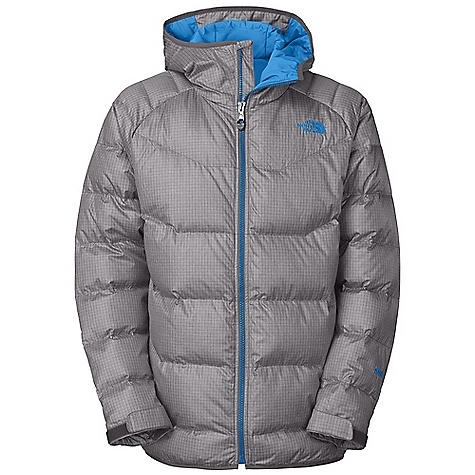 On Sale. Free Shipping. The North Face Men's Landover Down Jacket DECENT FEATURES of The North Face Men's Landover Down Jacket Water-resistant, breathable Adjustable fixed hood Handwarmer zip pockets Internal media security pocket Internal goggle pocket Snap-down powder skirt with elastic gripper Hook-and-loop adjustable cuffs Imported The SPECS Average Weight: 28.01 oz / 794 g Center Back Length: 30.25in. Shell: 2L ripstop with DWR Lining: Taffeta Insulation: 550 fill down This product can only be shipped within the United States. Please don't hate us. - $173.99