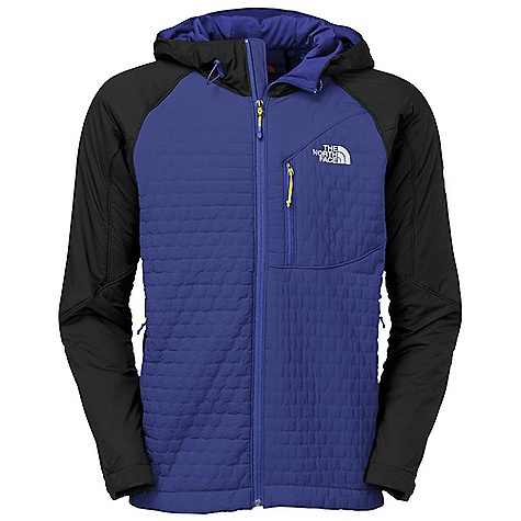 Ski On Sale. Free Shipping. The North Face Men's Polar Hooded Jacket DECENT FEATURES of The North Face Men's Polar Hooded Jacket Backcountry skiing, alpine climbing, ski mountaineering and mountaineering Exclusive Polartec Power Shield High Loft on chest and back traps warmth without inhibiting mobility PrimaLoft One synthetic insulation in sleeves and hood insulates even when wet Sleek, fixed, fully adjustable, helmet-compatible hood Zip handwarmer pockets The SPECS Average Weight: 19.4 oz / 550 g Fit: Active Body: 305 g/m2 (9.0 oz/yd2) Polartec Power Shield 1.5in. baffle high loft backer 100% nylon ripstop face-96% polyester, 4% elastane Shoulders Side Panels Hood: 20D 40 g/m2 (1.18 oz/yd2) 100% nylon ripstop Underarms: 20D 53 g/m2 (1.56 oz/yd2) 86% nylon, 14% elastane four-way stretch woven Cuff: 225 g/m2 (6.64 oz/yd2) 85% polyester, 15% elastane double knit with FlashDry This product can only be shipped within the United States. Please don't hate us. - $223.99