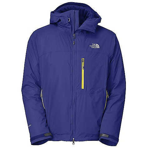 On Sale. Free Shipping. The North Face Men's Makalu Insulated Jacket DECENT FEATURES of The North Face Men's Makalu Insulated Jacket Waterproof, seam-taped nylon HyVent Alpha shell PrimaLoft One insulation is warm even when wet PrimaLoft One insulation levels are mapped to provide the greatest warmth to packability ratio possible Sleek, fixed, fully adjustable helmet-compatible hood swivels with head for a natural, unobstructed view Zip hand warmer pockets are generous and easy to access Interior pocket-accessed bottom cinch Imported The SPECS Average Weight: 1 lb 10 oz / 755 g Center Back Length: 29in. Body: 40D 100% nylon 99 g/m2 (2.87 oz/yd2) HyVent Alpha 2L shell Insulation: 133 g PrimaLoft One This product can only be shipped within the United States. Please don't hate us. - $193.99