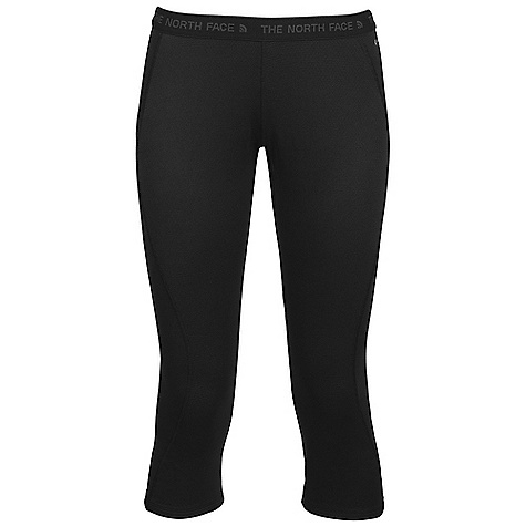 Free Shipping. The North Face Women's Warm Boot Top Bottom DECENT FEATURES of The North Face Women's Warm Boot Top Bottom Elastic logo waist Flat-locked seams Three-quarter length Imported The SPECS Average Weight: 3.88 oz / 110 g Inseam: short: 20in. 170 g/m2 88% polyester, 12% polyolefin two-layer hi-mechanical stretch double knit with FlashDry This product can only be shipped within the United States. Please don't hate us. - $49.95