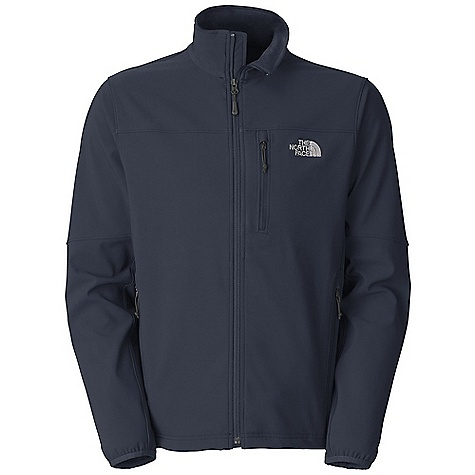 Free Shipping. The North Face Men's Apex Pneumatic Jacket DECENT FEATURES of The North Face Men's Apex Pneumatic Jacket TNF Apex Universal fabric, wind permeability rated at 10-15 CFM Brushed collar lining Napoleon chest pocket Two secure-zip hand pockets Elastic-bound cuffs Hem cinch-cord adjustment in pockets Imported The SPECS Average Weight: 19 oz / 540 g Center Back Length: 27.5in. 90D 208 g/m2 (7.34 oz/yd2) 91% polyester 9% elastane TNF Apex Universal with DWR This product can only be shipped within the United States. Please don't hate us. - $98.95