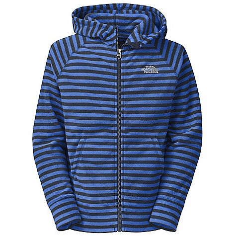 Free Shipping. The North Face Boys' Striped Glacier Full Zip Hoodie DECENT FEATURES of The North Face Boys' Striped Glacier Full Zip Hoodie Extremely durable, pill-resistant surface Lightweight warmth Kangaroo handwarmer pockets Embroidered logo at left chest The SPECS Average Weight: 4.6 oz / 130 g Center Back Length: 21.5in. 214 g/m2 100% polyester printed fleece This product can only be shipped within the United States. Please don't hate us. - $49.95
