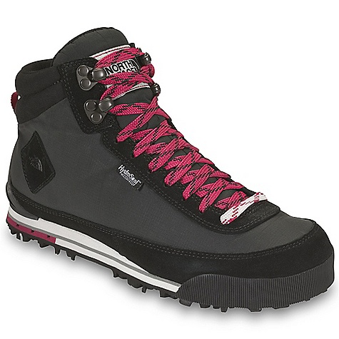 Camp and Hike Free Shipping. The North Face Women's Back-To-Berkeley Boot II DECENT FEATURES of The North Face Women's Back-To-Berkeley Boot II Upper: Durable, water-resistant, element-shedding 100% recycled P.E.T rip stop upper Waterproof suede mudguard Hydro Seal waterproof membrane 100 g PrimaLoft Eco Insulation Gusseted tongue OrthoLite sock liner Bottom: Die-cut EVA midsole Durable TNF Winter Grip rubber outsole with Ice Pick temperature-sensitive lugs Imported The SPECS Last: L\TNF-S11-01 Approx Weight: 1/2 pair: 12.5 oz / 354 g, pair: 1 lb 9 oz / 708 g This product can only be shipped within the United States. Please don't hate us. - $119.95