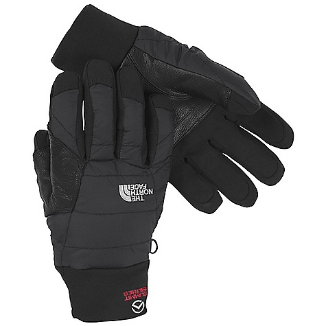 Free Shipping. The North Face Redpoint Optimus Glove DECENT FEATURES of The North Face Redpoint Optimus Glove 5 Dimensional Fit Uses five hand measurements to build gloves from the inside out to ensure a consistent size Fit Leather-reinforced palm Comfy stretch cuff gasket Needled palm insulation for maximum dexterity Imported The SPECS Shell: Nylon ripstop with DWR Lining: 150 g fleece with FlashDry Palm: Synthetic suede Palm Insulation: 60 g Heatseeker (needled), 100 g PrimaLoft One (needled) Back of Hand insulation: 140 g Heatseeker insulation, 133 g PrimaLoft One insulation This product can only be shipped within the United States. Please don't hate us. - $64.95