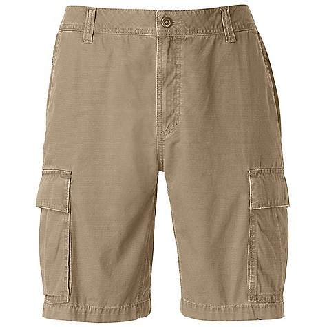 Free Shipping. The North Face Men's Greyrock Cargo Short DECENT FEATURES of The North Face Men's Greyrock Cargo Short Slash hand pockets Shank center front closure with zip-fly Triple needle stitching at critical seams Cargo pockets with envelope flap closure and pleats for increased capacity Patch pockets at rear with flap closure and hidden button garage Woven label at inside waistband Logo swing label at rear pocket Imported The SPECS Average Weight: 16 oz / 440 g Inseam: regular: 10in., long: 12in. Body: 220 g/m2 (6.5 oz/yd2), 100% cotton ripstop Finish: Enzyme washed This product can only be shipped within the United States. Please don't hate us. - $49.95