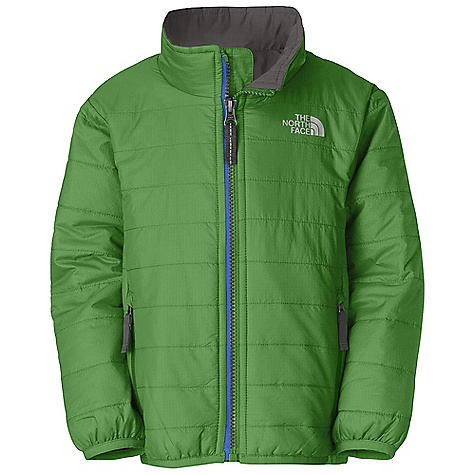 Free Shipping. The North Face Toddler Boys' Blaze Jacket DECENT FEATURES of The North Face Toddler Boys' Blaze Jacket Zippered hand pockets ID label Reflective logo at left chest and back right shoulder Imported The SPECS Average Weight: 6.49 oz / 184 g Center Back Length: 15.625in. Body: 20D 36 g/m2 100% nylon ripstop with DWR Lining: 50D 76 g/m2 100% recycled polyester taffeta with DWR Insulation: 60 g/m2 thermal insulation-60% polyester, 40% Minerale polyester with FlashDry This product can only be shipped within the United States. Please don't hate us. - $89.95