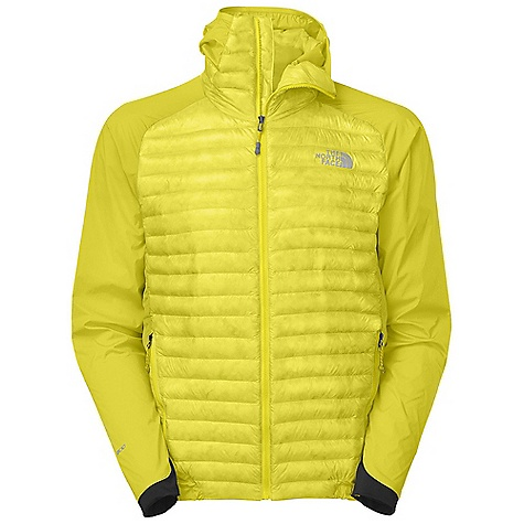 Climbing Free Shipping. The North Face Men's Verto Micro Hoodie DECENT FEATURES of The North Face Men's Verto Micro Hoodie 800 fill goose down offers superior warmth yet remains extremely compressible Elastic-bound hood with extra insulation in the neck vastly extends comfort range Sleek hem and cuff construction reduces bulk and improves fit Stuffs into alpine-style pocket for easy use and stowage No-rise hem is slightly longer in the back Summit Series Verto Climb Collection has a climbing-specific fit designed for vertical movement Summit Series Collection is harness and pack-compatible Imported The SPECS Average Weight: 8.6 oz / 245 g Center Back Length: 27.5in. Body: 10D 25 g/m2 Pertex Quantum GL-100% nylon micro-ripstop, 53 g/m2 86% nylon, 14% elastane four-way stretch woven, 215 g/m2 59% nylon, 25% polyester, 16% elastane double knit with FlashDry Insulation: 800 fill goose down This product can only be shipped within the United States. Please don't hate us. - $248.95