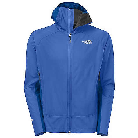Ski Free Shipping. The North Face Men's Alpine Project Hybrid Hoodie DECENT FEATURES of The North Face Men's Alpine Project Hybrid Hoodie Exclusive Gore Wind Stopper SCUBA is windproof and weather resistant and has a wide comfort range Fully adjustable hood with hidden cord locks and laminated brim Stretch woven side panels breathe well and reduce bulk Harness-and pack-friendly alpine hand warmer pockets Hidden hem cinch-cord at center front zip Stretch woven side panels breathe well and reduce bulk Harness- and pack-friendly alpine hand warmer pockets No-rise hem is slightly longer in the back Summit Series collection is harness and pack-compatible Imported The SPECS Average Weight: 15 oz / 425 g Center Back Length: 28in. 30D 160 g/m2 Gore Wind Stopper 3L-53% nylon jersey, 47% polyester mesh, 196 g/m2 TNF Apex Aerobic-91% nylon, 9% elastane double weave This product can only be shipped within the United States. Please don't hate us. - $198.95