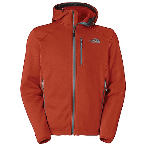 Free Shipping. The North Face Men's Cucamonga Fleece Jacket DECENT FEATURES of The North Face Men's Cucamonga Fleece Jacket Attached, adjustable hood Napoleon chest pocket Two secure-zip hand pockets Elastic-bound cuffs Hem cinch-cord Imported The SPECS Average Weight: 20 oz / 560 g Center Back Length: 28.5in. 270 g/m2 (9.52 oz/yd2) 100% polyester fleece This product can only be shipped within the United States. Please don't hate us. - $148.95