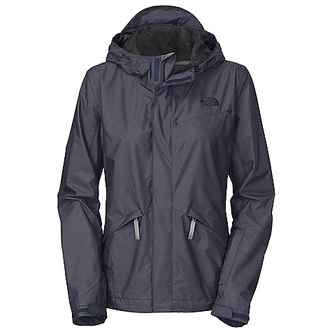 Free Shipping. The North Face Women's Bleecker Jacket DECENT FEATURES of The North Face Women's Bleecker Jacket Waterproof Breathable Helmet-compatible stow hood Zip hand pockets Adjustable cuffs Single back zip security pocket Cape vent Cuff key/lock pocket Media port Reflective logos and elements Rounded hem provides extra coverage in the back 3M reflective elements and logo Imported The SPECS Average Weight: 17.92 oz / 508 g Center Back Length: 29in. 20D 75 g/m2 (2.21 oz/yd2) Hyvent 2L heather ripstop-70% nylon, 30% polyester This product can only be shipped within the United States. Please don't hate us. - $149.95