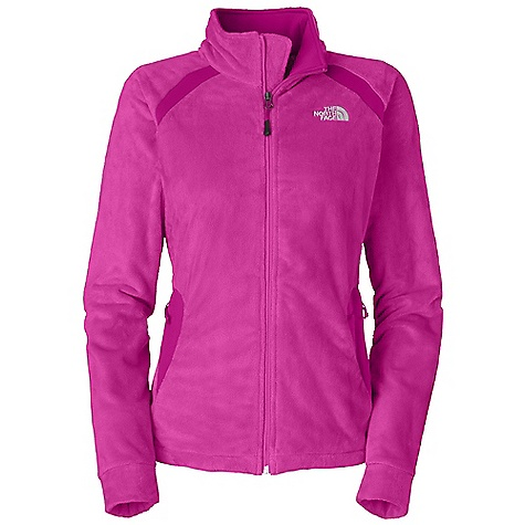 Free Shipping. The North Face Women's Lasen Jacket DECENT FEATURES of The North Face Women's Lasen Jacket Soft Silken fleece Slivered with hard faced TKA stretch fleece Reverse-coil center front zip Two secure hand pockets Hem cinch-cord Imported The SPECS Average Weight: 16 oz / 465 g Center Back Length: 25.5in. Body: Silken fleece Panel: 265.0 g/m2 (9.35 oz/yd2) 93% polyester, 7% elastane hard-face TKA stretch fleece This product can only be shipped within the United States. Please don't hate us. - $119.95