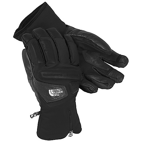 Free Shipping. The North Face Gonzo Glove DECENT FEATURES of The North Face Gonzo Glove 5 Dimensional Fit Radiametric Articulation Zippered, hybrid over/under cuff gasket Burly, anatomically mapped knuckle guards The SPECS Shell: SuperSpan twill Lining: 100% polyester with FlashDry fiber Palm: Water-resistant leather Palm Insulation: 100 g Heatseeker Back of Hand Insulation: 180 g Heatseeke This product can only be shipped within the United States. Please don't hate us. - $120.00