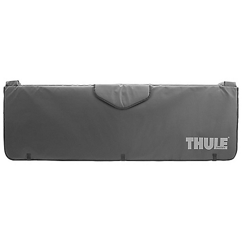Fitness Features of the Thule Gate Mate Tailgate Pad Ultra durable heavy duty vinyl with foam padding protects both bike and truck tailgate Integrated Knock-Blocks prevent bikes from sliding off edge of tailgate causing damage to the vehicle and or bike Handle Hood allows for convenient access to tailgate handle without pad removal Strap anchors provide secure tie down points for bikes and other loads Sturdy nylon straps to keep pad securely attached to tailgate Fits full-size and compact pickups - $119.95