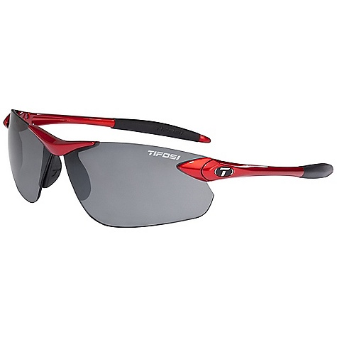 Entertainment The Tifosi Seek FC Sunglasses Are lightweight sunglasses for sports. Choose the right lens for your sport and get outside for a day in the sun. The nose and ear pads Are adjustable and feature hydrophilic rubber, providing a no-slip grip, even when you're a sweaty mess as you turn up the heat on the court, trail, road and more. Mostly rimless, yet featuring a durable bridge and temple arms, they remain lightweight so you can focus. When it's time to go inside, keep them safe inside the included bag and case until next time. Features of the Tifosi Seek FC Sunglasses Fully adjustable nose pads provide a custom Fit Limiting slippage and increasing comfort Fully adjustable ear pads allow a custom Fit Increasing comfort and Performance Hydrophilic rubber ear and nose pads increase their grip the more you sweat - no slipping TR-90 is an incredibly light and durable nylon material that resists chemical and UV damage Bag and case included - $49.95