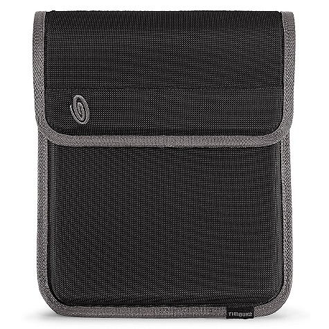 On Sale. Timbuk2 Popup Sleeve DECENT FEATURES of the Timbuk2 Popup Sleeve Low-profile protective case designed for iPad 2/iPad High-density foam protection Secondary function as a viewing stand for viewing movies or Face Time Luxurious faux fur lining keeps electronics cozy and clean Refined weave 840 ballistic nylon The SPECS Weight: 12 oz / 0.35 kg Height: 27 cm Width: Top: 22 cm, Bottom: 22 cm Depth: 2 cm Max Monitor Size: iPad - $24.99