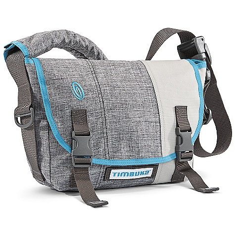 Entertainment On Sale. Free Shipping. Timbuk2 Freestyle Messenger Bag DECENT FEATURES of the Timbuk2 Freestyle Messenger Bag Dedicated high-density foam laptop compartment, perfect for an iPad 2, 11in. MacBook Air Exclusive memory adjust CAM buckle Front organizer pockets and key tether Durable ballistic nylon with waterproof TPU liner The SPECS Weight: 1 lb 10 oz / 0.76 kg Height: 22.5 cm Width: Top: 32.5 cm, Bottom: 26.5 cm Depth: 13 cm Volume: 8 liters Max Monitor Size: iPad/11in. - $69.99