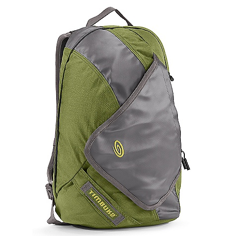Free Shipping. Timbuk2 Especial Dos DECENT FEATURES of the Timbuk2 Especial Dos Back bender flexible cooling panel Comfort backpack straps with hydration or headphone routing, a reflective hit and detachable sternum strap Internal pocket for laptops up to 13 inches or can accommodate a hydration bladder Compact profile designed to carry the essentials Multiple swing around quick access pockets U lock holster attachment point Reflective hits Internal organizer for all of the essentials Air jet textured ripstop nylon 6.6 for high abrasion resistance and exceptional strength to weight ratio The SPECS Weight: 1 lb 8 oz / 0.69 kg Height: 40 cm Width: Top: 22 cm, Bottom: 25 cm Depth: 11.5 cm Volume: 14 liters Max Monitor Size: 13in. - $119.00