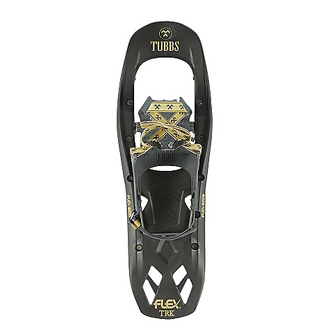 Camp and Hike On Sale. Free Shipping. Tubbs Men's Trek Snowshoe DECENT FEATURES of the Tubbs Men's Trek Snowshoe Launched itself into the Day Hiking category with the addition of the ActiveLift heel lift. Has all of the important FLEX Series features like FLEX Tail, Torsion Deck, and 3D-Curved Traction Rails at an affordable price. The Compact Design makes it the perfect choice for trail blazers, and the QuickFLEX binding will hold your foot securely for long trips. The SPECS Dimensions: 8' x 24' Weight/Pair: 3.6 lbs Optimal Load: One Size Surface Area: 165 in squared - $110.99