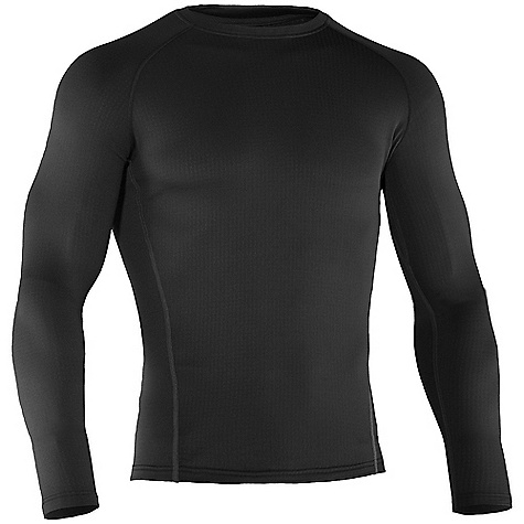 Fitness Free Shipping. Under Armour Men's UA Base 2.0 Long Sleeve Crew DECENT FEATURES of the Under Armour Men's UA Base 2.0 Long Sleeve Crew Flatlock stitching Ergonomic seam placement Raglan construction Armourblock antiodor technology Updated fabric The SPECS Weight: 4.9 oz Fabric: 93% Polyester 7% Elastane - $54.95