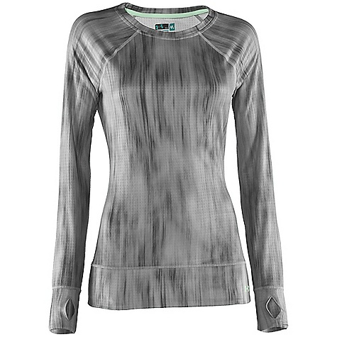 Fitness Free Shipping. Under Armour Women's UA Base 2.0 Avalanche Long Sleeve Crew DECENT FEATURES of the Under Armour Women's UA Base 2.0 Avalanche Long Sleeve Crew Flatlock stitching Ergonomic seam placement Thumb holes Raglan sleeves Ships poly-bagged for hanging The SPECS Weight: 4.9 oz Fabric: 93% Polyester/7% Elastane - $64.95