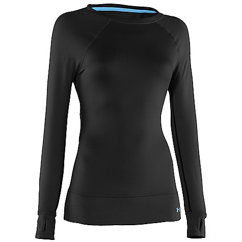 Fitness Free Shipping. Under Armour Women's UA Base 2.0 Long Sleeve Crew DECENT FEATURES of the Under Armour Women's UA Base 2.0 Long Sleeve Crew Flatlock stitching Ergonomic seam placement Thumb holes Raglan Sleeves Updated fabric The SPECS Weight: 4.9 oz Fabric: 93% Polyester/7% Elastane - $54.95
