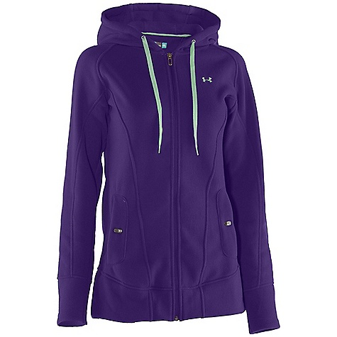 Fitness Free Shipping. Under Armour Women's Wintersweet FZ Hoody DECENT FEATURES of the Under Armour Women's Wintersweet FZ Hoody UA storm Sweater-knit fleece fabric feels soft and comfortable but performs like UA Extended length for more coverage Low-profile 3-piece hood Secure hand pockets with internal audio port The SPECS 9.72 oz, 100% Polyester - $99.95