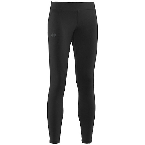 Fitness Free Shipping. Under Armour Women's UA Evo CG Legging DECENT FEATURES of the Under Armour Women's UA Evo CG Legging Ua Evo coldgear fabric transports moisture to keep you dry and traps heat to keep you warm Ultra-Brushed interior traps more warmth Flatlock stitching Updated silhouette with wider waistband The SPECS Weight: 7.09 oz Fabric: 89% Polyester/11% Elastane - $49.95