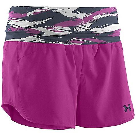 Surf Under Armour Women's Misty Mount Boardshort DECENT FEATURES of the Under Armour Women's Misty Mount Boardshort Stretch knit waistband Stretch woven body Quick dry fabric Armour block anti-odor technology Back pocket detail Storm DWR finish Print on select colors The SPECS Inseam: 3in. Body: 4.78 oz, 93% Polyester/ 7% Elastane Waist: 6.2 oz, 74% Nylon/26% Elastane - $44.95