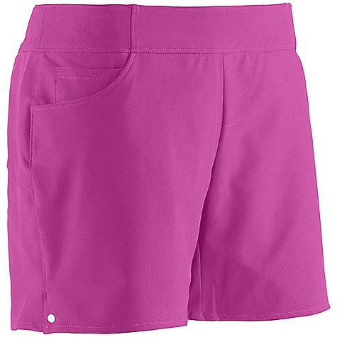 Surf Free Shipping. Under Armour Women's Wavamae Boardshort DECENT FEATURES of the Under Armour Women's Wavamae Boardshort 4 way stretch for increased mobility Quick dry fabric Armour block antiodor technology Side tie entry for abrasion-free front 4-pocket Storm DWR finish The SPECS Inseam: 4in. 6.49 oz, 91% Polyester/ 9% Elastane - $59.95