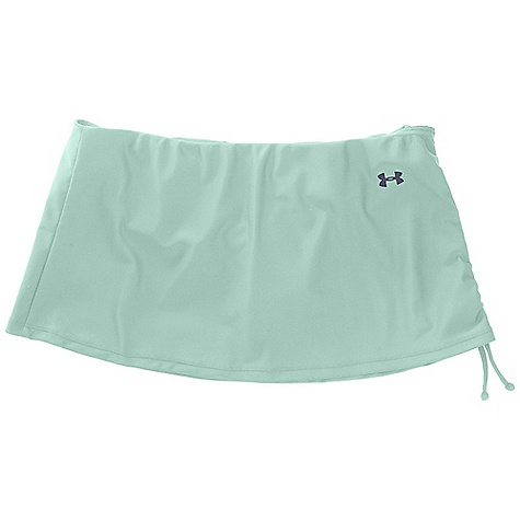 Surf Under Armour Women's Cocoa Butter Skirtini Bottom DECENT FEATURES of the Under Armour Women's Cocoa Butter Skirtini Bottom Adjustable side cinch design detail Built in bikini bottom UPF Print in select colors The SPECS Body: 6.2 oz, 74% Nylon/26% Elastane Mesh: 3.06 oz, 80% Nylon/20% Elastane - $29.95
