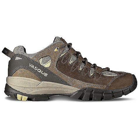 Camp and Hike Free Shipping. Vasque Women's Mantra Shoe DECENT FEATURES of the Vasque Women's Mantra Shoe Weight: Women's 7: 1 lb 8 oz / 681 g Last: Perpetuum Upper: 1.8mm Nubuck, PU Coated Leather, Airmesh Footbed: Dual Density EVA Midsole: Molded EVA Outsole: Vibram Ananasi - $109.95