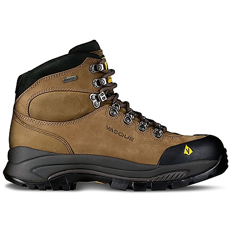 Camp and Hike Free Shipping. Vasque Men's Wasatch GTX Boot DECENT FEATURES of the Vasque Men's Wasatch GTX Boot Last: Summit Upper: 2.4mm Waterproof Nubuck, Molded Rubber Toe Bumper Footbed: Dual Density EVA Midsole: Molded PU Outsole: Vasque Exclusive Vibram Contact Gore-Tex Weight: Size: 9: 3 lbs 6 oz / 1531 g - $184.95