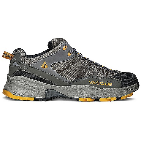 On Sale. Free Shipping. Vasque Men's Velocity Shoe DECENT FEATURES of the Vasque Men's Velocity Shoe Gore-Tex with Extended Comfort Technology Weight: Men's 9: 14.1 oz / 400 g Last: Arc Tempo Upper: Synthetic Nubuck, TPU Weld, Airmesh Footbed: Dual Density EVA Midsole: Stability, Dual Density EVA Outsole: Vasque Mako - $87.96
