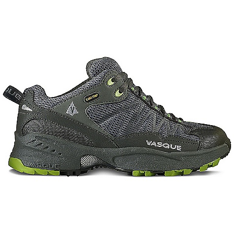On Sale. Free Shipping. Vasque Women's Velocity GTX Shoe DECENT FEATURES of the Vasque Women's Velocity GTX Shoe Gore-Tex with Extended Comfort Technology Weight: Women's 7: 13.9 oz / 394 g Last: Arc Tempo Upper: Synthetic Nubuck, TPU Weld, Airmesh Footbed: Dual Density EVA Midsole: Stability, Dual Density EVA Outsole: Vasque Mako - $97.99