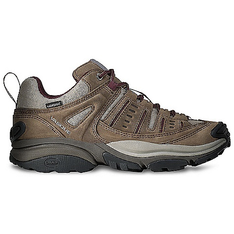 Camp and Hike On Sale. Free Shipping. Vasque Women's Scree Low WP Shoe DECENT FEATURES of the Vasque Women's Scree UD Low Boot Weight: Women's Size 7: 1 lb 13 oz / 822 g Last: Arc Tempo Upper: 1.8mm Waterproof Nubuck Leather, Airmesh Nylon Footbed: Dual Density EVA Midsole: EVA-lution Outsole: Revolution with Stealth S1 Rubber UltraDry Waterproofing System, Molded Rubber Toe Bumper - $93.99