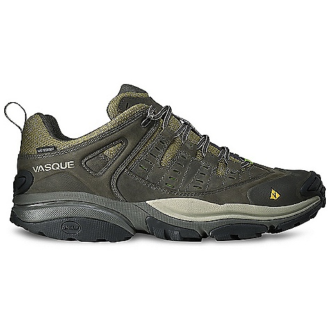 Camp and Hike Free Shipping. Vasque Men's Scree Low WP DECENT FEATURES of the Vasque Men's Scree Low WP UltraDry waterproofing System LOW Weight: Men's 9: 1 lb 14 oz / 850 g MID UD Weight: Men's 9: 2 lbs 8 oz / 1134 g LOW UD Weight: Men's 9: 2 lbs 5 oz / 1049 g Last: Arc Tempo Upper: 1.8mm Nubuck Leather, Airmesh, Molded Rubber Toe Bumper Footbed: Dual Density EVA Midsole: EVA-lution Outsole: Revolution with Stealth S1 Rubber - $134.95