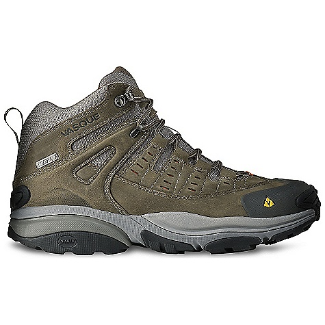 Camp and Hike On Sale. Free Shipping. Vasque Men's Scree Mid WP Boot DECENT FEATURES of the Vasque Men's Scree UD Mid Boot Weight: Men's Size 9: 2 lbs 8 oz / 1134 g Last: Arc Tempo Upper: 1.8mm Waterproof Nubuck Leather, Airmesh Nylon Footbed: Dual Density EVA Midsole: EVA-lution Outsole: Revolution with Stealth S1 Rubber UltraDry Waterproofing System, Molded Rubber Toe Bumper - $119.96