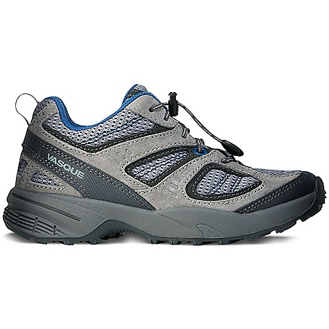 On Sale. Free Shipping. Vasque Kid's Opportunist Shoe DECENT FEATURES of the Vasque Kids' Opportunist Shoe Weight: Kids' Size 13: 1 lb 3 oz / 539 g Last: Vasque Kid Upper: 1.4mm Suede, PU Coated Leather, Airmesh Nylon Footbed: Contoured EVA Outsole: Kids Blur - $47.96