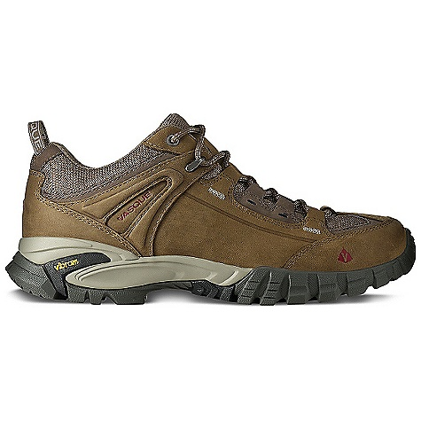 Camp and Hike Free Shipping. Vasque Men's Mantra 2.0 Shoe DECENT FEATURES of the Vasque Men's Mantra 2.0 Shoe Last: Perpetuum Upper: 1.8mm Nubuck Leather, Abrasion Resistant Mesh Footbed: Dual Density EVA Midsole: Molded PU Outsole: Vibram Nuasi Gore-Tex with Extended Comfort Technology Weight: Size: 9: 2 lbs 4 oz / 1026 g GTX Weight: Size: 9: 2 lbs 5 oz / 1054 g - $119.95