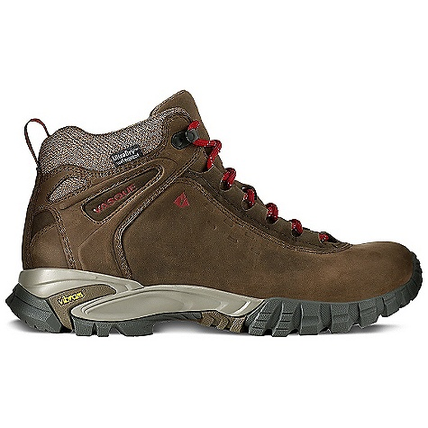 Camp and Hike Features of the Vasque Men's Talus WP Boot UltraDry Waterproofing System Athletically-oriented bottom package Classically styled silhouette Lightweight lower profile Upper provides rugged, but flexible comfort - $164.95
