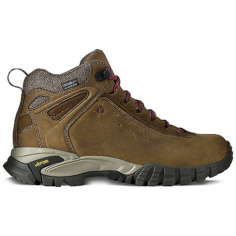 Camp and Hike Free Shipping. Vasque Women's Talus WP Boot DECENT FEATURES of the Vasque Women's Talus WP Boot UltraDry Waterproofing System Last: Perpetuum Upper: 1.8mm Waterproof Nubuck Leather, Abrasion Resistant Mesh Footbed: Dual Density EVA Midsole: Molded PU Outsole: Vibram Nuasi Weight: Size: 7: 2 lbs 2 oz / 974 g - $149.95